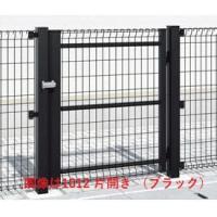 送料無料【三協アルミ】カジュアルなスチールメッシュフェンスシリーズの門扉です。