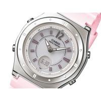 カシオ CASIO WAVE CEPTOR ソーラー 電波  レディース腕時計  商品仕様:(約)H...