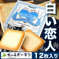 石屋製菓 白い恋人12枚入 ホワイトチョコレートとラングドシャーのハーモニー(dk-2 dk-3)