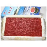 原材料:秋鮭の卵(北海道産)、塩 クール宅急便(冷凍)でお届けいたします。