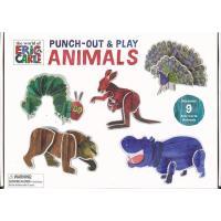 ★この商品は【バーゲンブック】です。★  商品名:  PUNCH−OUT&PLAY ANIMALS−...