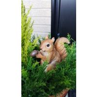 人工観葉植物 アニマルプランター ブタ・猫・リスどちらかをお選びください 屋外使用可