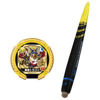 アニメや漫画で主人公タイガが使用するタッチペンと、モンスターメモリー1枚のセットです。 スマホに使え...