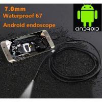 Androidスマホ用のLEDボアスコープ  ミニカメラ管スネークIP67防水内視鏡 (代引き・お急ぎ便可能)