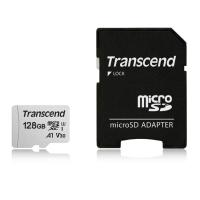 Transcend microSD カード 128GB  UHS-I U3対応 Class10 TS128GUSD300S-AE