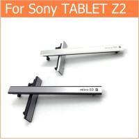 ●ソニー エクスペリアZ2タブレット専用サイドキャップ2点セット(microSD/simカード + ...