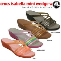 crocs isabella mini wedge w  クロックス イザベラ ミニ ウェッジ ウィ...