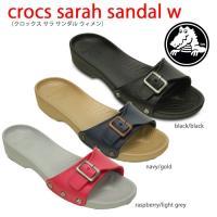 crocs sarah sandal w クロックス サラ サンダル ウィメン  柔らかいクロスライ...