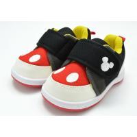 ディズニー Disney DS0180 ファーストシューズ スニーカー ベビー 赤ちゃん 子供 ブラック 靴 セール SALE
