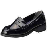 オールデイウォーク ALD2350 235 ALL DAY Walk レディース ローファー ブラックエナメル 靴