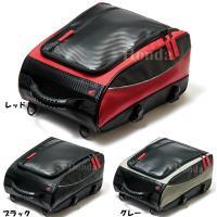 Honda ツーリングシートバック ショートツーリングにぴったりな容量を確保したシート固定型バッグ。...
