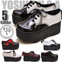【YOSUKE U.S.A】ヨースケ 靴 ファッション/レディース/編み上げシューズ/パンプス/オッ...