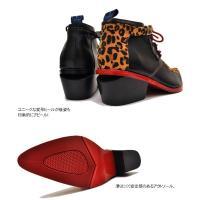とんがり靴 ヒールアップブーツ メンズ YOSUKE U.S.A ヨースケ ※(予約)は3営業日内に発送