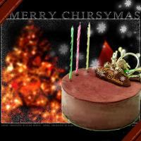 商品説明 クリスマスケーキ  ドゥーブルショコラ(Wチョコレートケーキ)サイズ 約 直径12センチ ...
