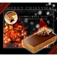 クリスマスケーキ  オペラ サイズ175mm × 80mm × 40mmカットケーキ約5切れ分 12...