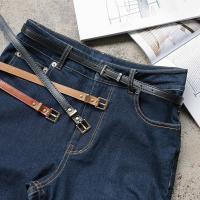 ベルト レディース ファッション 細 小物 シンプル J585