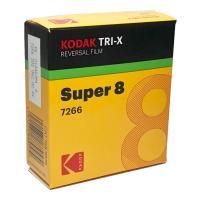 【商品名】 コダック トライ-X 白黒リバーサル フィルム 7266 / スーパー8 50フィート ...