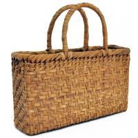 山葡萄かごバッグ  高級  網代編 山皮 内布付き  wild grapevine bag 91447