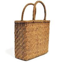 山葡萄かごバッグ  高級  網代編 山皮 内布付き  wild grapevine bag 91449
