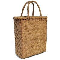 山葡萄かごバッグ  高級  網代編 山皮 内布付き  wild grapevine bag 91450