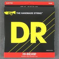 マーカスミラーなどの使用でも知られる、 高品質なDRベース弦!このHI-BEAMはラウ ンド・コア(...