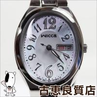 【ブランド】シチズン CITIZEN 【商品名】wicca 【タイプ】レディース 【型番】KH3-1...