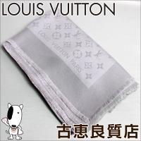 【ブランド】ルイヴィトン LOUIS VUITTON 【商品名】ショール モノグラム 【型番】- 【...