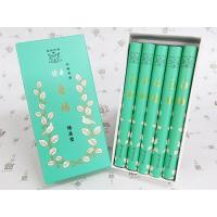 香りの老舗、鳩居堂さんが、伝統の技法により作り出した 鳩居堂さんのお線香です。 すっきりとした印象の...