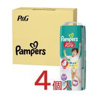 ◆P&G パンパース さらさらケア(パンツ)スーパージャンボ ビッグ 38枚入り+2枚 ×4個パック パンツタイプ