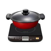 IH調理器 KZ-PG33-K 鍋ものをもっと手軽に。 お鍋のだしが簡単にとれる 「鍋だし作りコース...