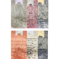 柄のついた使い捨てレジ袋 100枚  材質:HDPE サイズ:巾150mm x 長340mm x マ...