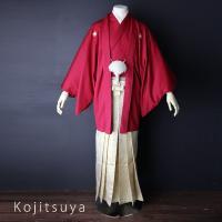 卒業式 袴 レンタル 男 結婚式 袴セット 紋付羽織袴 着物 成人式 男性 紋付袴 dh-027