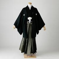 卒業式 袴 レンタル 男 結婚式 袴セット 紋付羽織袴 着物 成人式 男性 紋付袴 dh-047