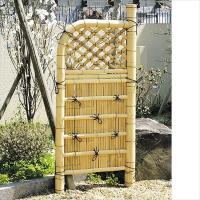 風情あるお庭を演出 商品情報 サイズ 約:幅75×高さ170(cm) 材質 竹製 ※天然竹は丈夫で耐...
