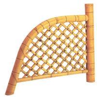 風情あるお庭を演出 商品情報 サイズ 約:幅120×高さ100(cm) 材質 竹製 ※天然竹は丈夫で...