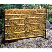 風情あるお庭を演出 商品情報 サイズ 約:幅165×高さ120(cm)、脚付 材質 竹製 ※こちらの...