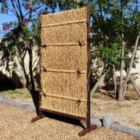 風情あるお庭を演出 商品情報 サイズ 約:幅90×高さ160(cm)、脚付 材質 竹製 ※こちらの商...