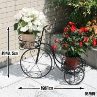 三輪車花台 商品情報 サイズ 1個/約:幅61×高さ49.5×奥行25(cm) 花台部内寸 前/約:...