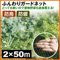 軽いので直に被せてもOK! 商品情報 ●目合が細かく、蝶や蛾も防げる! ●軽いので葉物野菜にも直接被...