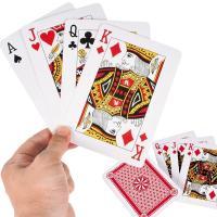 商品情報 大きいトランプ! サイズ(約) 縦16.8×横11.8(cm)カード54枚 材質 紙製 備...