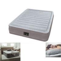 コンパクトで快適な電動ポンプ内臓エアベッド! 空気の注入も排出もスイッチ一つ! 約3分でベッドが完成...