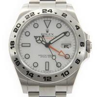 メーカ/ブランド:ロレックス 商品名:ロレックス 216570 エクスプローラーII 自動巻 通称:...