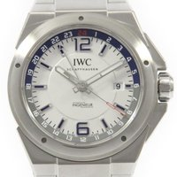 メーカ/ブランド:IWC 商品名:IWC IW324404 インヂュニアデュアルタイム 自動巻 通称...