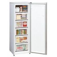 前開き型6段式のスリムタイプ冷凍庫。  5段は引出し式クリアケース搭載で使いやすい