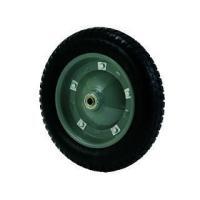 一輪車用のタイヤです。パンクした際の交換品です。チューブを使用しておらず、パンクしないノーパンクタイ...