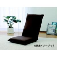 いつもの座椅子を簡単リメイク。肌触りの良い鹿の子素材を使用。