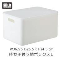 収納ボックス Lサイズ 持ち手 フタ付き プラスチック