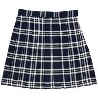 ac76863b71fdb TEENS EVER TE-10SS チェック プリーツスカート(紺×白) Lサイズ スクールスカート 学校 制服 女子 高校生 JK レディース  クリアストーン 4560320825081