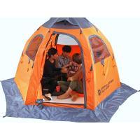 誰でも簡単、瞬時に設営することができるワンタッチフィッシングテント。  設営方法はテントを地面に広げ...
