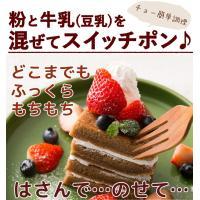 ミックス粉 送料無料  玄米ミックス  魚沼玄米パンミックス (グルテンフリー)(砂糖不使用)IH炊飯器で作る米粉パン 2袋セット(100g×4袋)|kopa-komeko|02